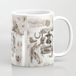 Country Western Coffee Mug