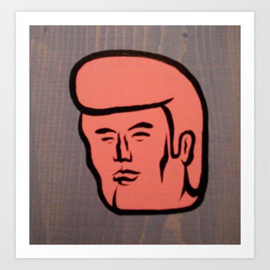pretty boy 02 Art Print