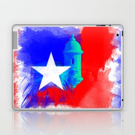 San Juan P.R Watercolor Laptop & iPad Skin