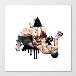 Nate Diaz vs. Kurt Pellegrino Canvas Print