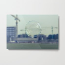 city bubble Metal Print