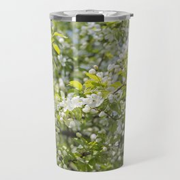 Crabapple Blossoms 12 Travel Mug