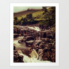 SCOTLAND / Glen Etive, Highlands / 03 Art Print