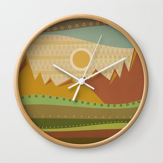Textures/Abstract 137 Wall Clock