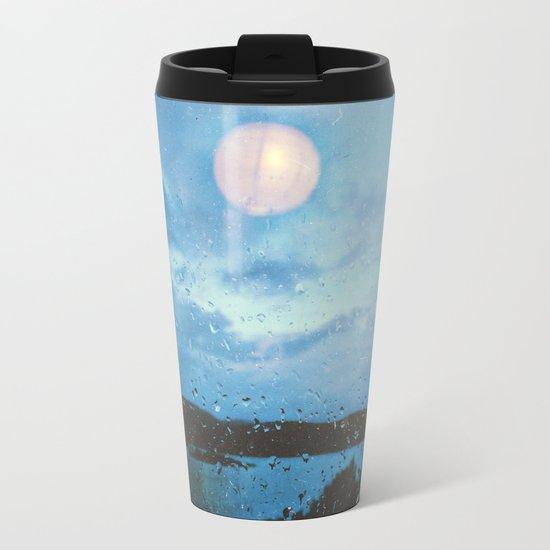 Sea the Moon Metal Travel Mug
