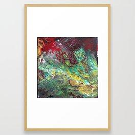 Tears of Jamila 12 x 12 Acrylic On Canvas Framed Art Print