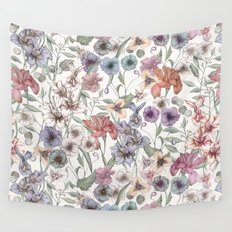 Magical Floral  Wall Tapestry