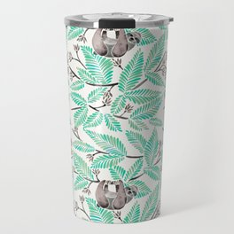 Happy Sloth – Tropical Mint Rainforest Travel Mug