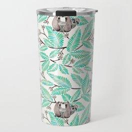 Happy Sloth – Tropical Mint Rainforest Travel Mug