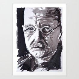Max Planck Art Print