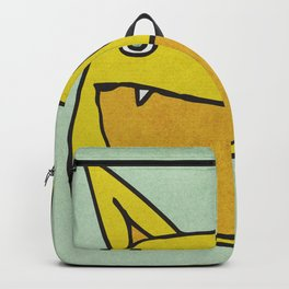 Slightly Amused Monsters, IX Yellow Backpack