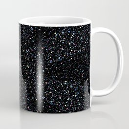 Magic Night Glitter Mandala I. Coffee Mug