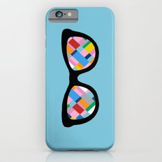 Map 45 Glasses on Sky Blue iPhone 6s Slim Case