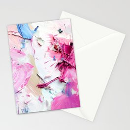 Pinky Swear (Abstract Paint Photograph) Stationery Cards