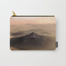 The West is Burning - Mt Shasta - nature photography Carry-All Pouch