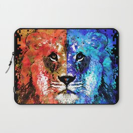 Lion Art - Majesty - Sharon Cummings Laptop Sleeve