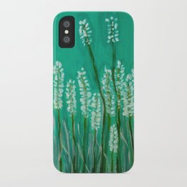Springtime -green iPhone Case