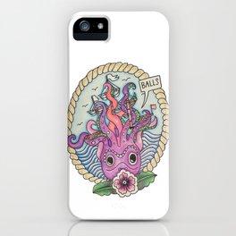 Squid Vs Boat iPhone Case