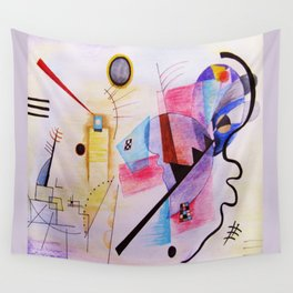 inspiration from Kandinsky . artwork Wall Tapestry