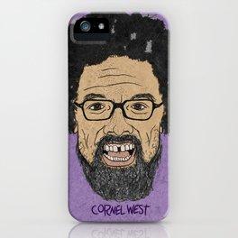 CORNEL WEST iPhone Case