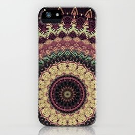 Mandala 273 iPhone Case