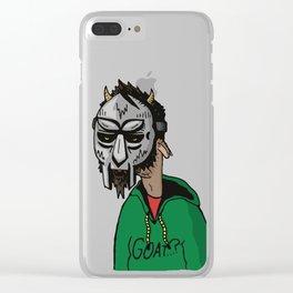 MF DOOM GOAT Clear iPhone Case