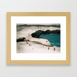 Summer in Greece Framed Art Print