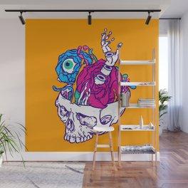 New life of Yorick's skull Wall Mural