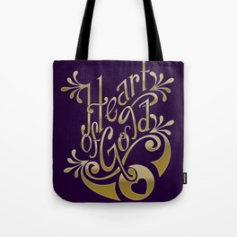 Heart of Gold - wording only Tote Bag