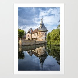 Chateau of Saint-Germain de Livet Art Print