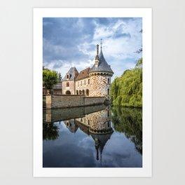 Chateau of Saint-Germain de Livet Art Print