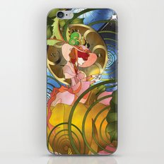 The Stroke of Midnight iPhone & iPod Skin