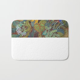 flower 2【Japanese painting】 Bath Mat