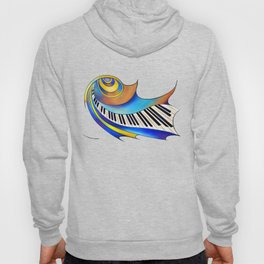 Redemessia - spiral piano Hoody