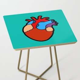 Anatomical Heart Side Table