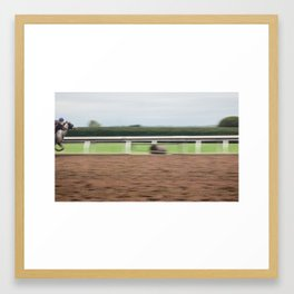 Win Framed Art Print