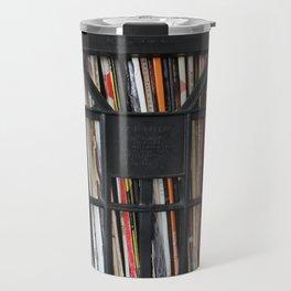 Vinyl DJ Crate Travel Mug