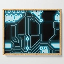Circuit Pattern Serving Tray
