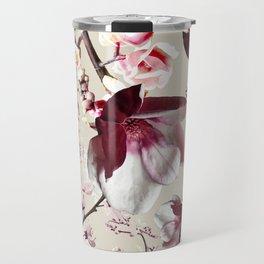 Magnolia cherry blossum Travel Mug