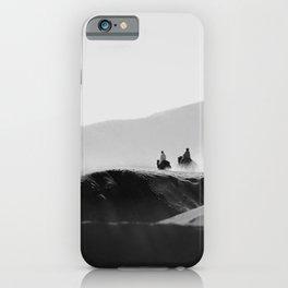 Two Riders iPhone Case