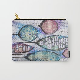 Inspirational Canvas Print Carry-All Pouch