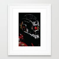 starlord Framed Art Prints featuring Starlord by watsonedsherlock