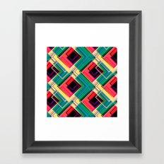 Life in color Framed Art Print