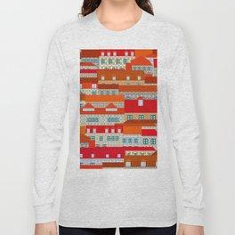 lisbon tiles Long Sleeve T-shirt