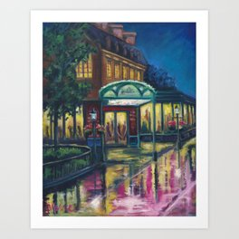 Reflections of Paris Art Print