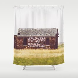 Conquer Shower Curtain