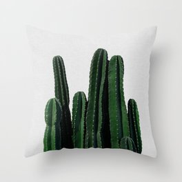 Cactus I Throw Pillow