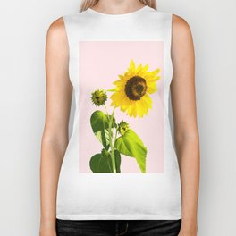 Sun Flower || #society6 #decor #buyart Biker Tank