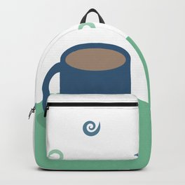 Teal Aromas Backpack