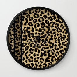 CLASSIC LEOPARD SKIN Wall Clock